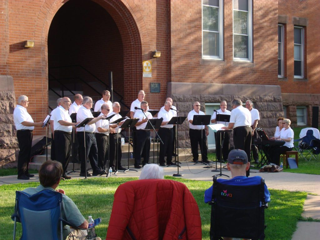 courthouse lawn concert