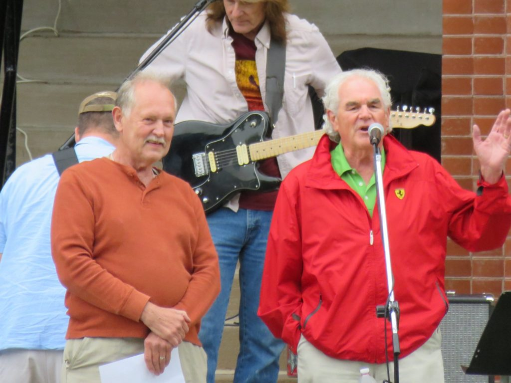 concert on courthouse lawn