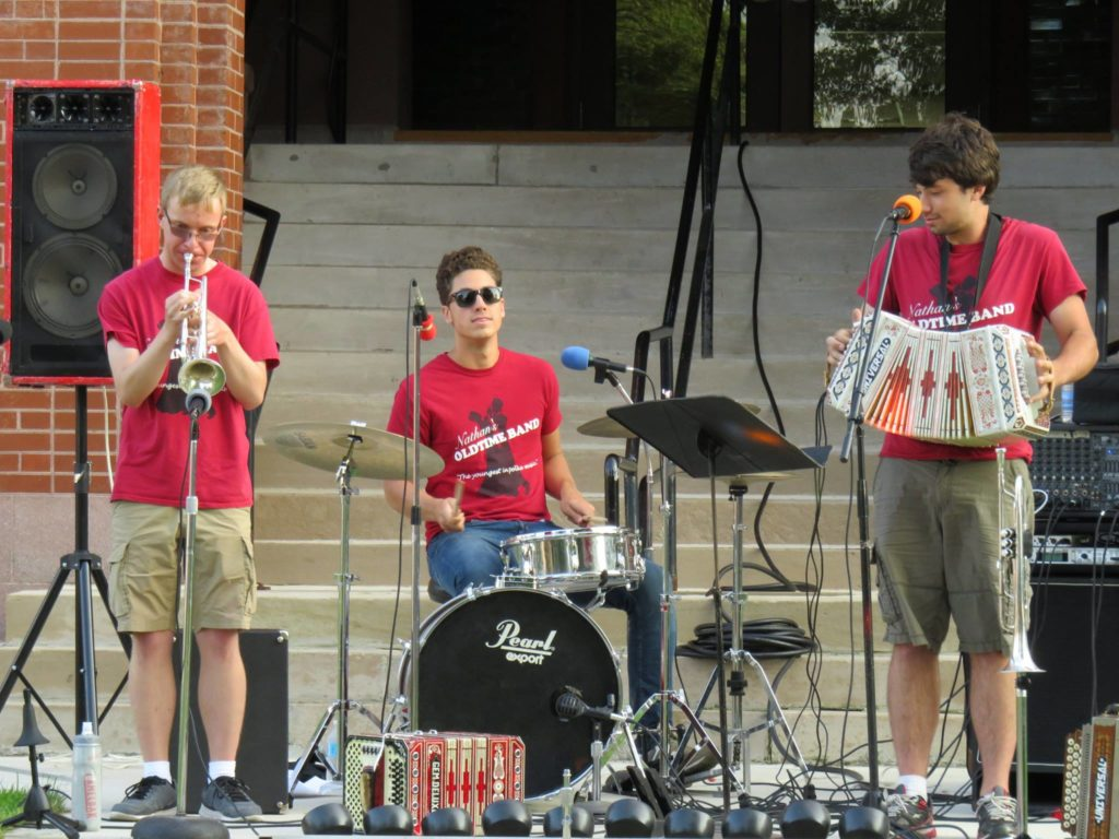 Nathans old time band concert