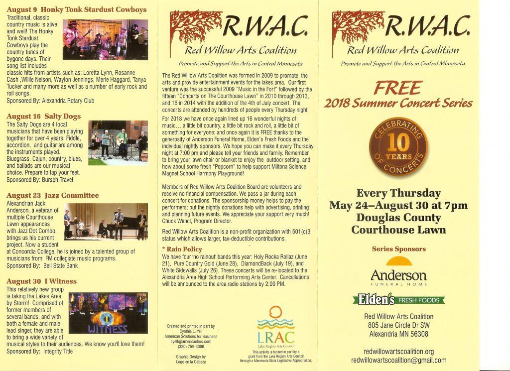 RWAC 2018 Brochure Front
