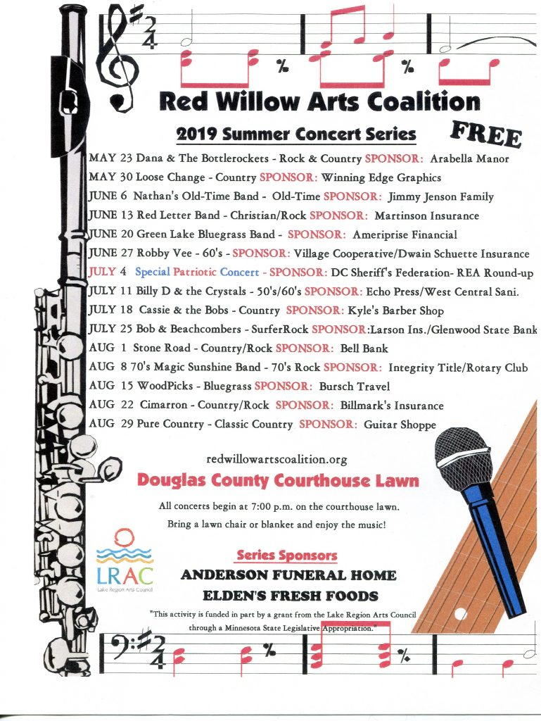 concerts courthouse lawn 2019