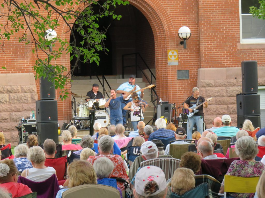 concert on the courthouse lawn stone road 2019