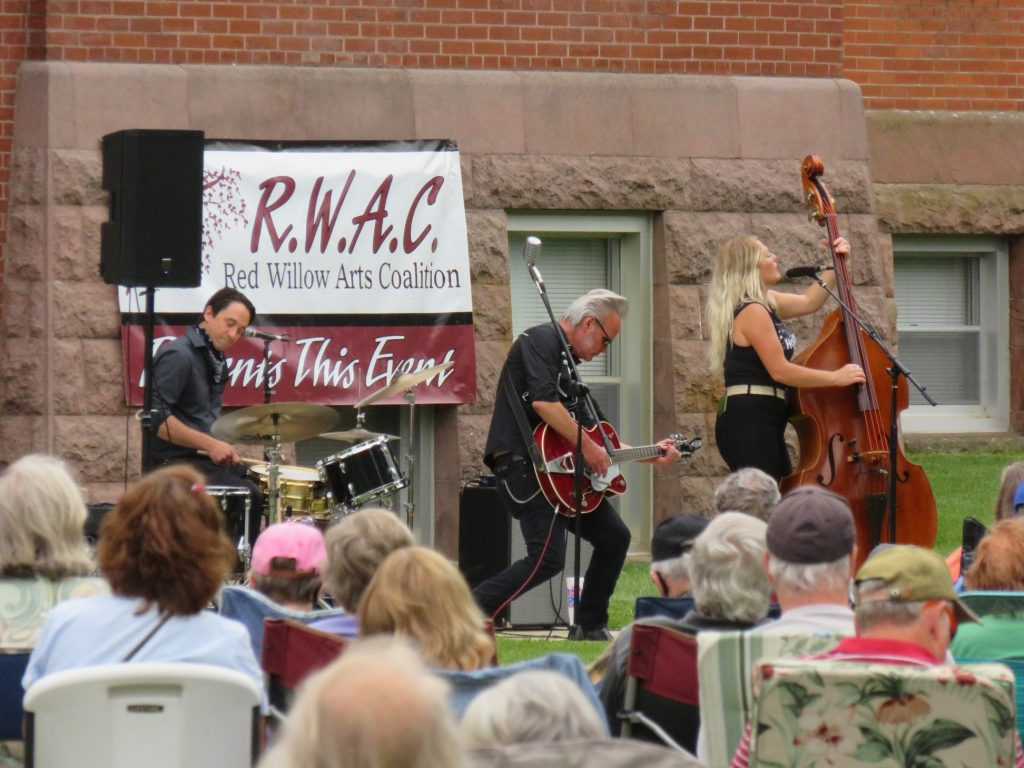 June 25 2020 concert at courthouse lawn
