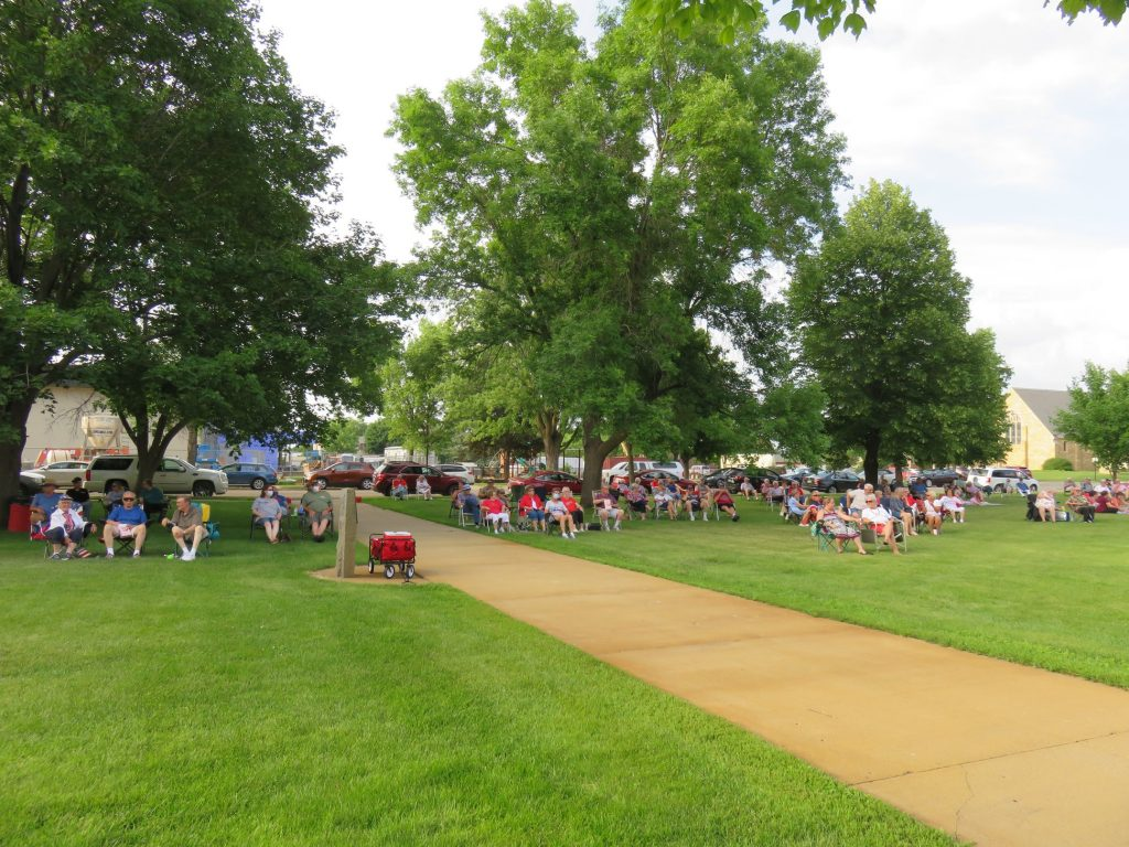 Concert on the lawn July 4th 2020