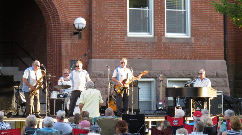 white sidewalls band concert